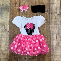 Pink Minnie Tutu Dress