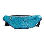 Blue to Purple Sequin Fanny Pack